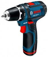 Bosch GSR 10,8-2-LI 2.0Ah + 4.0Ah Bag