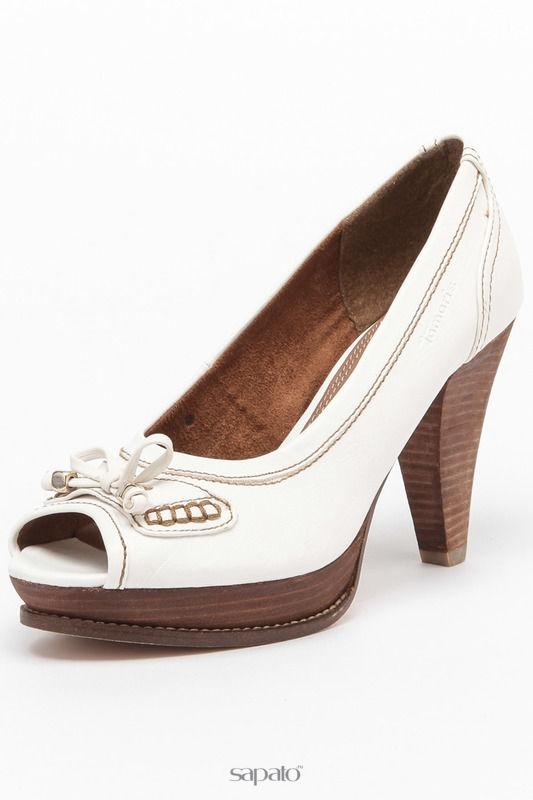 Туфли Tamaris Босоножки белые