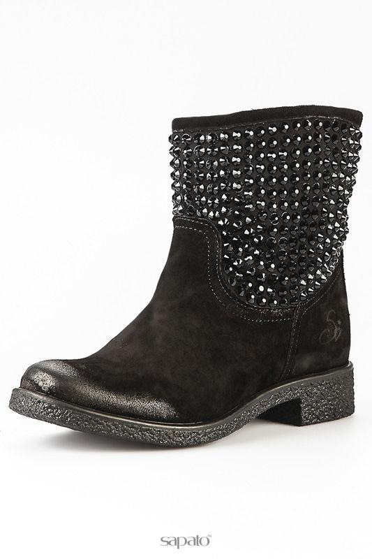 Ботинки Alberto Venturini Ботинки чёрные
