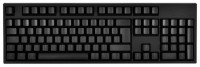 WASD Keyboards V2 105-Key ISO Custom Mechanical Keyboard Cherry MX Clear Black USB
