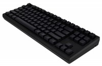 WASD Keyboards V2 87-Key Barebones Mechanical Keyboard Cherry MX Clear Black USB