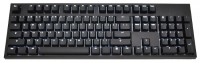 WASD Keyboards CODE 104-Key Mechanical Keyboard Cherry MX Clear Black USB