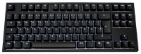 WASD Keyboards CODE 88-Key Swedish Mechanical Keyboard Cherry MX Clear Black USB
