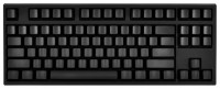 WASD Keyboards V2 87-Key Custom Mechanical Keyboard Cherry MX Clear Black USB