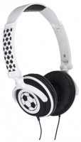 Kitsound My Doodles Football On-ear