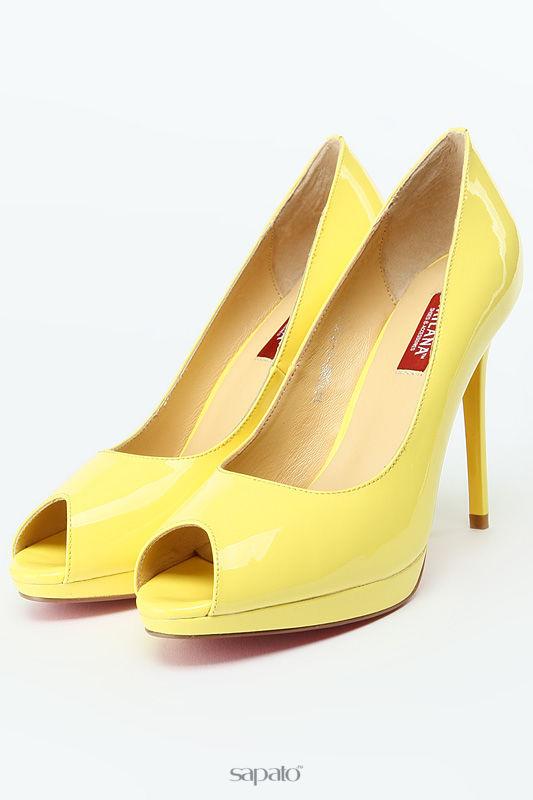 Туфли Milana Туфли жёлтые