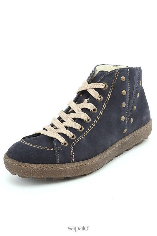 Ботинки Rieker Ботинки синие