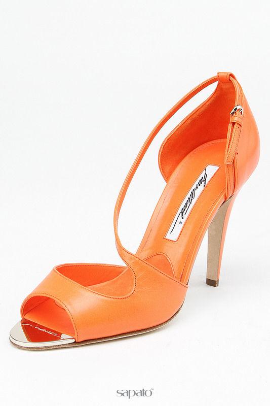 Босоножки Brian Atwood Босоножки оранжевые