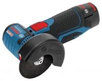 Bosch GWS 10,8-76 V-EC 2.5Ah x2 L-BOXX