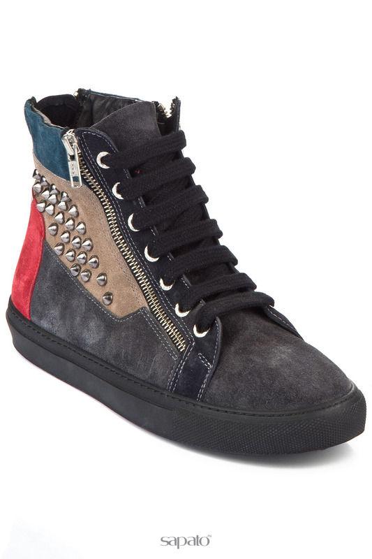 Сапоги INCI Ботинки чёрные