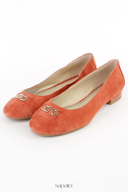 Балетки Anre Tani Туфли коричневые
