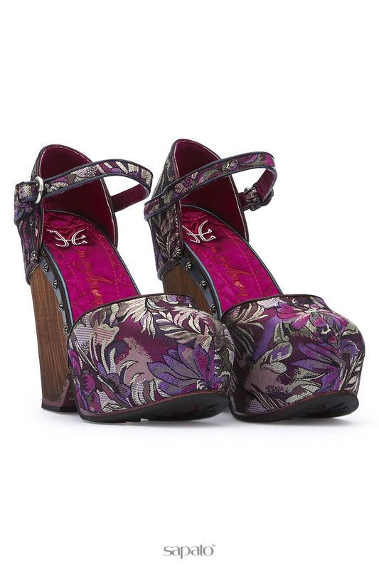 Босоножки Fabi mon amour Босоножки на каблуках Мультиколор