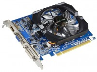 GIGABYTE GeForce GT 610 810Mhz PCI-E 2.0 1024Mb 1333Mhz 64 bit DVI HDMI HDCP AX