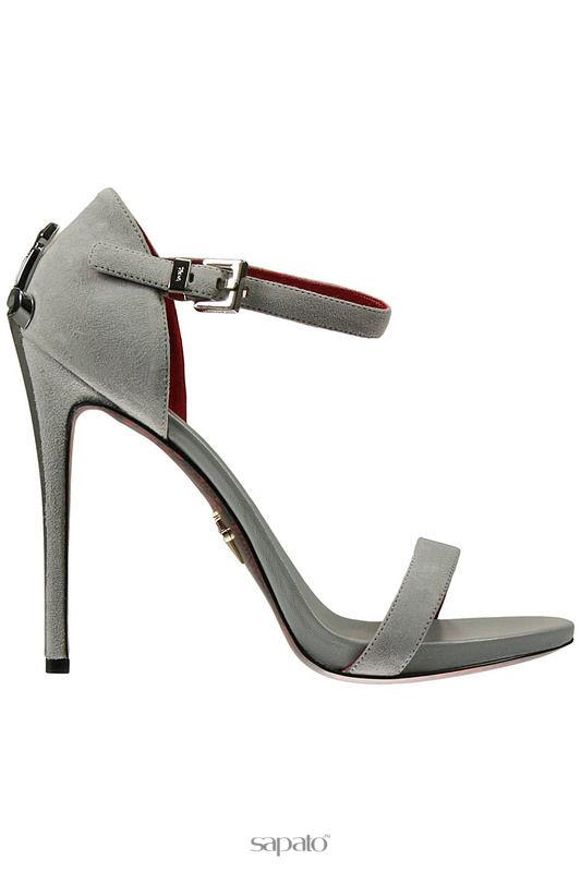 Босоножки Cesare Paciotti Босоножки на каблуках чёрные