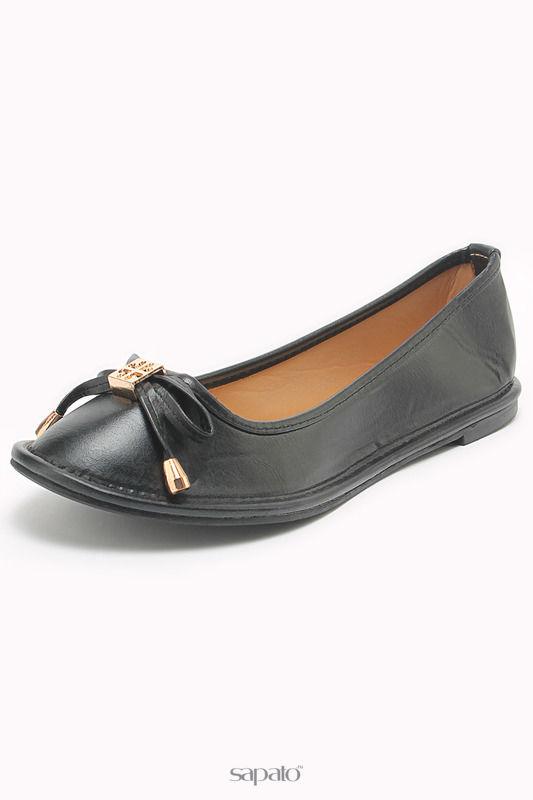 Балетки Amazonga Туфли чёрные