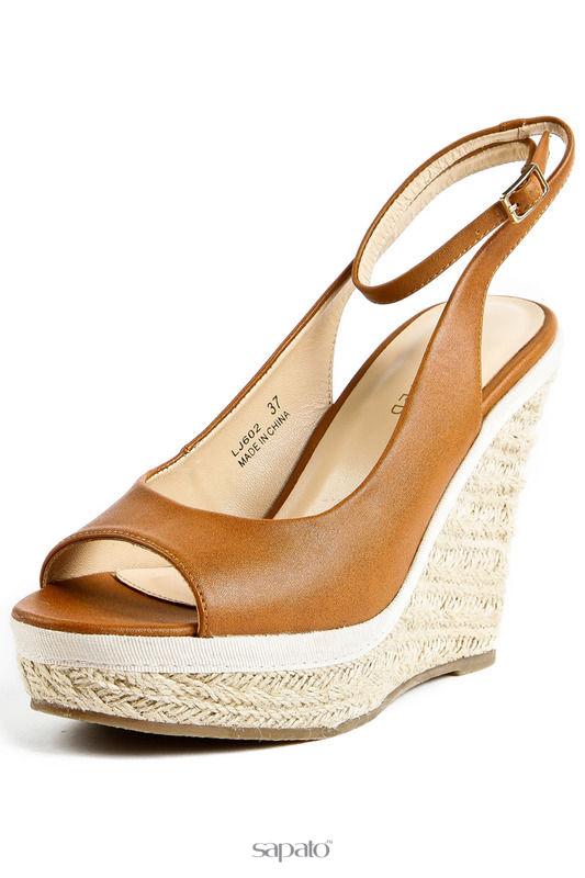 Ботинки Reserved Сандалии коричневые
