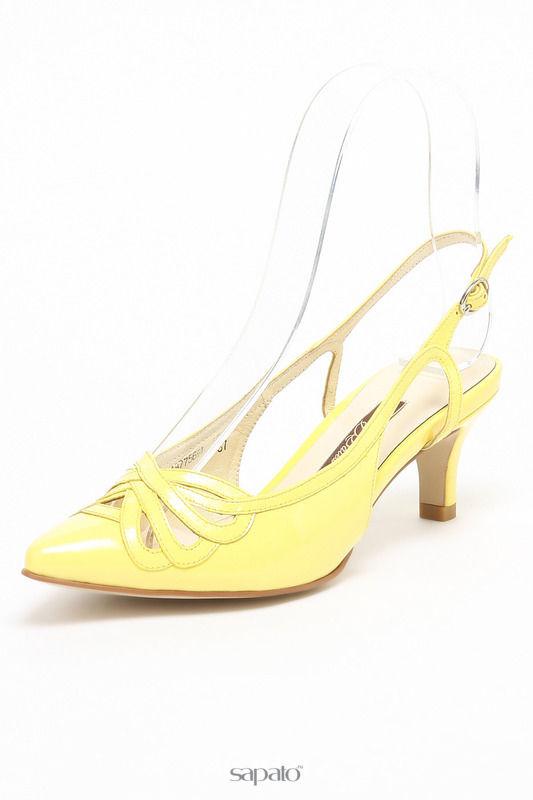 Босоножки Balex Туфли жёлтые