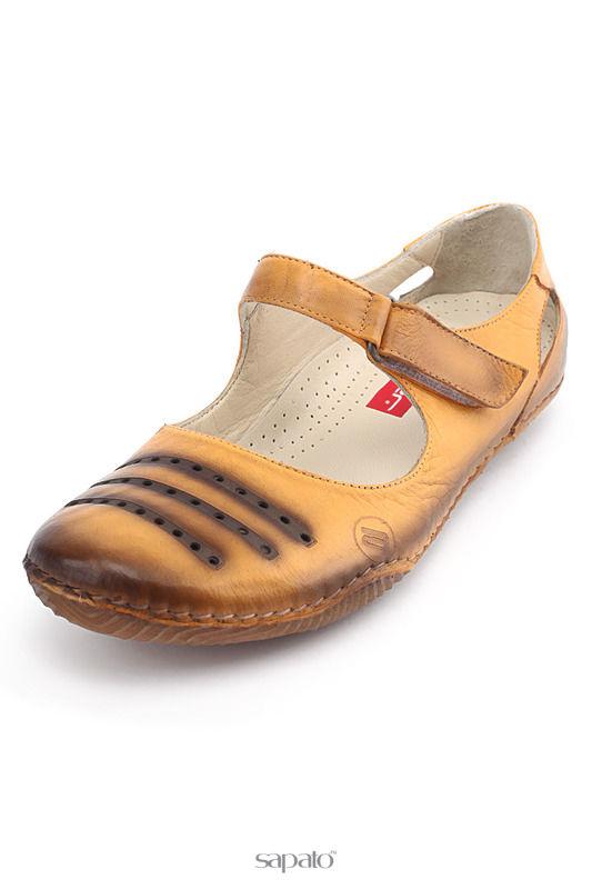 Туфли ATIKER Туфли жёлтые