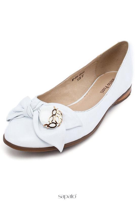 Туфли MARIO PONTI Туфли белые