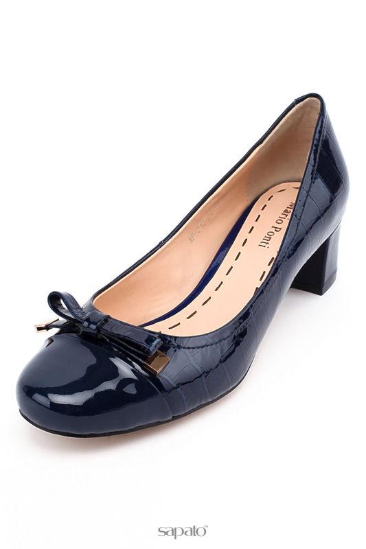 Туфли MARIO PONTI Туфли синие