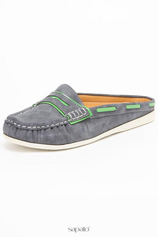 Мокасины SPARKLING Туфли синие