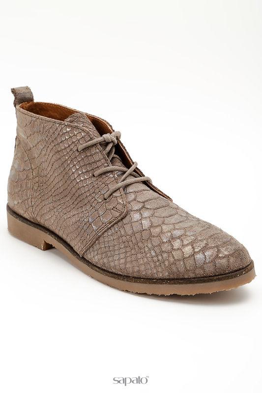 Ботинки POELMAN Ботинки бежевые