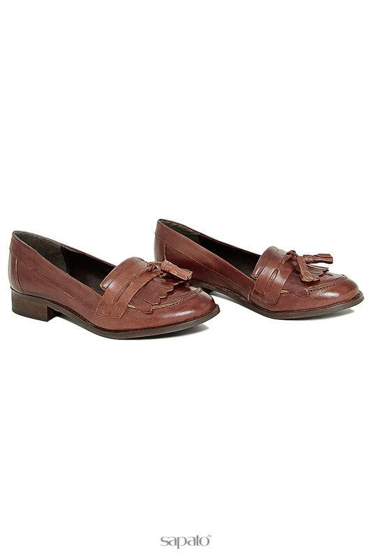 Туфли GUSTO Лоферы серые