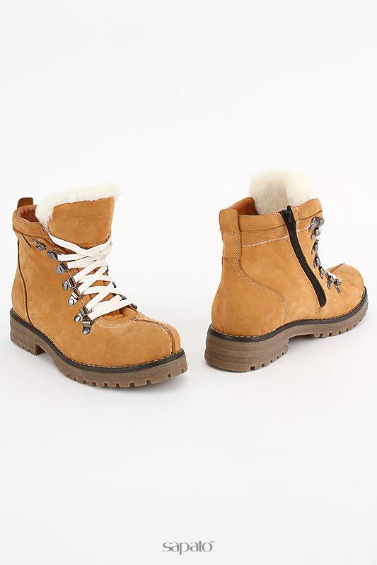 Ботинки ENISSE Ботинки оранжевые