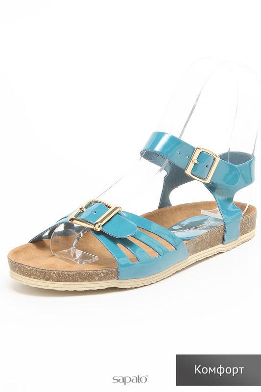 Босоножки SPARKLING Туфли голубые