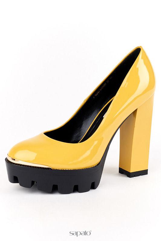 Туфли ELSI Туфли жёлтые