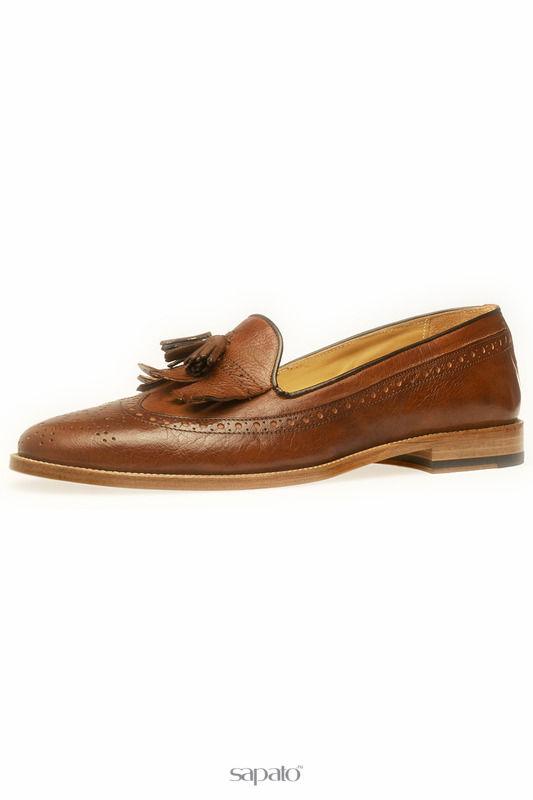 Туфли BELSIRE MILANO Лоферы коричневые