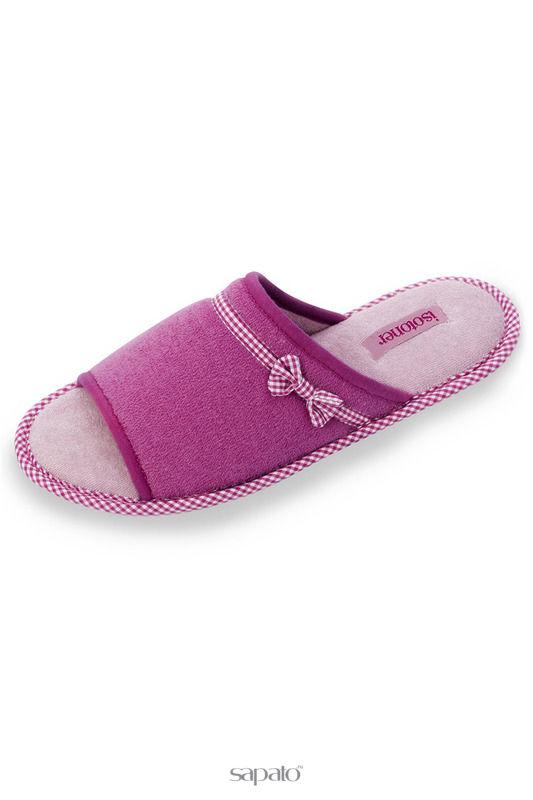 Домашняя обувь Isotoner Тапочки розовые
