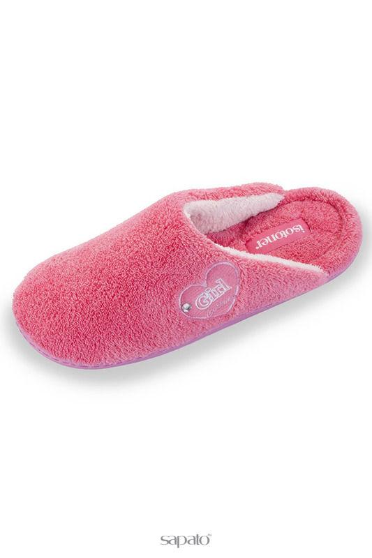 Домашняя обувь Isotoner Тапочки эргономичные красные