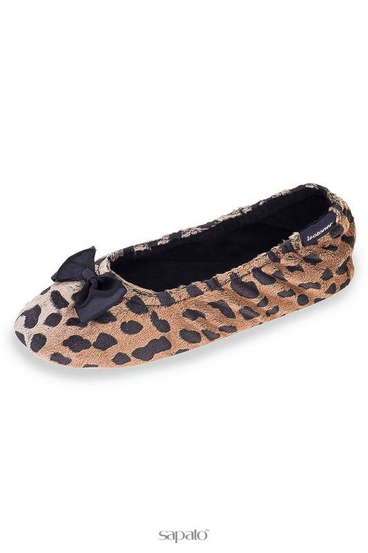 Домашняя обувь Isotoner Балеринки Мультиколор