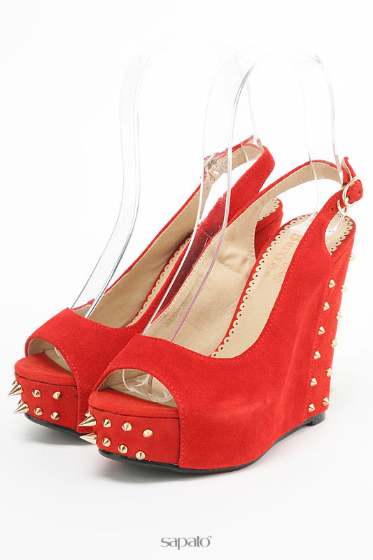 Босоножки Brucco Туфли красные