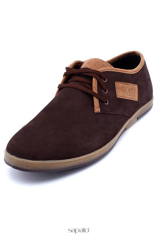 Ботинки LEKI COLLECTION Полуботинки коричневые