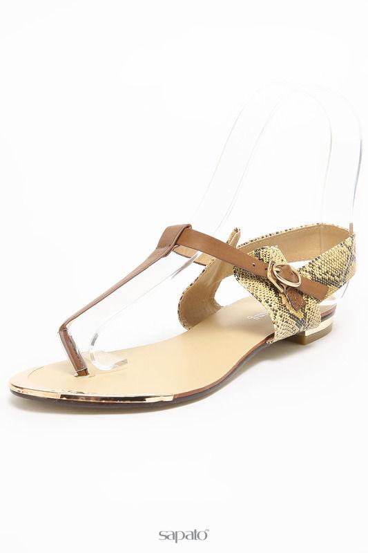 Босоножки SPARKLING Туфли коричневые
