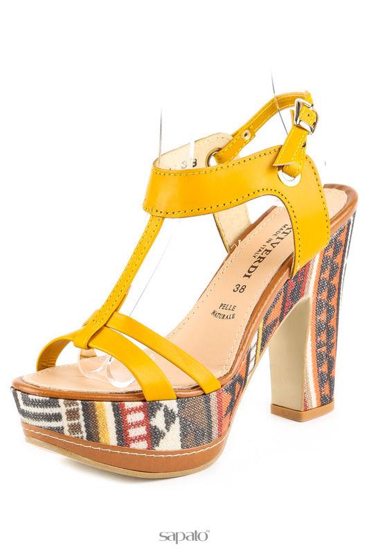 Босоножки PRATIVERDI Туфли жёлтые