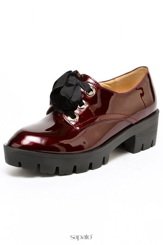 Ботинки Summergirl Туфли закрытые красные