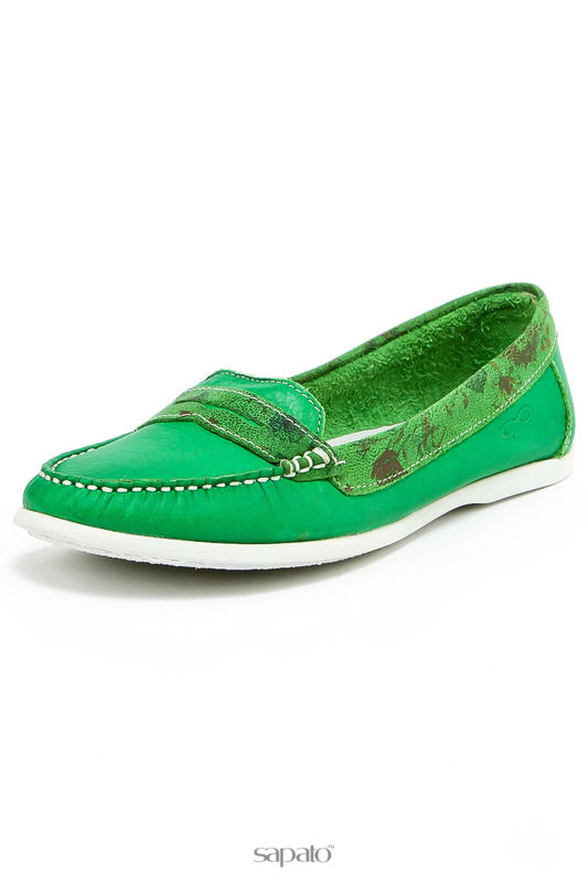 Мокасины Goergo Мокасины зеленые