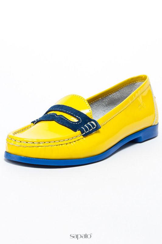 Мокасины Goergo Мокасины жёлтые
