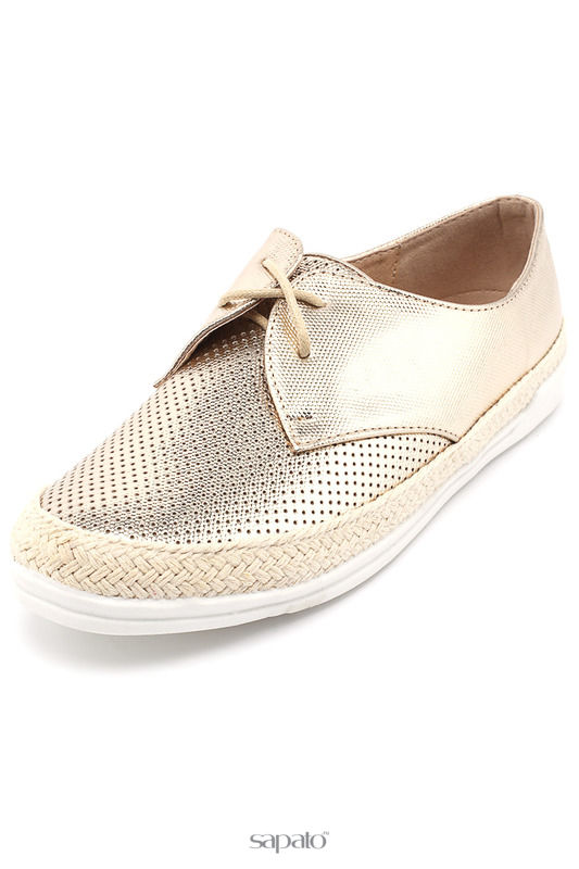 Ботинки SpringWay Полуботинки золотистые