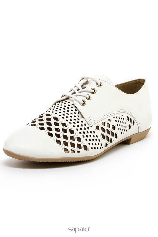 Ботинки Goergo Туфли летние белые