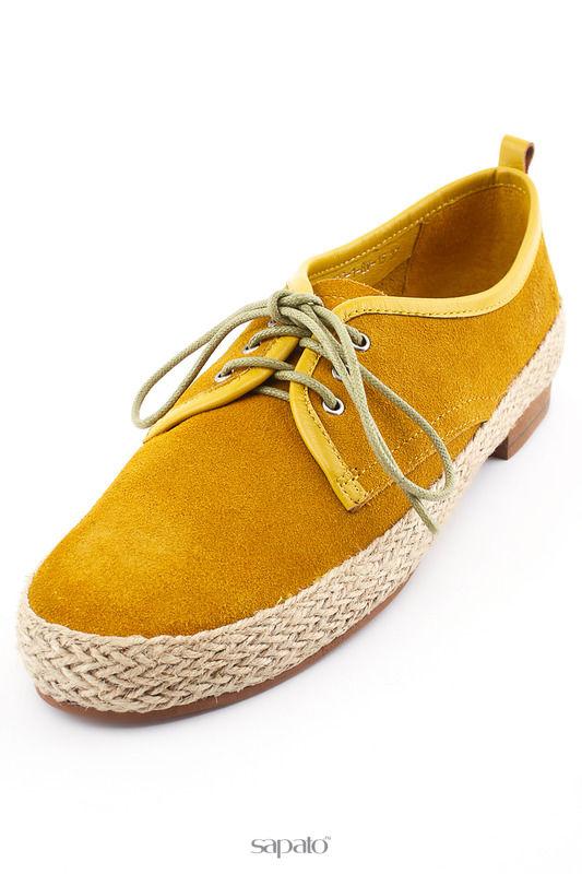 Ботинки Evita Полуботинки жёлтые