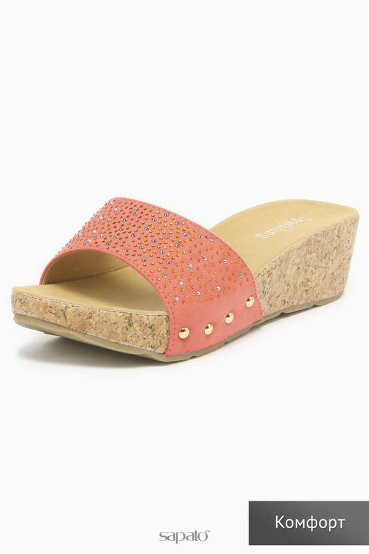 Сабо SPARKLING Туфли розовые
