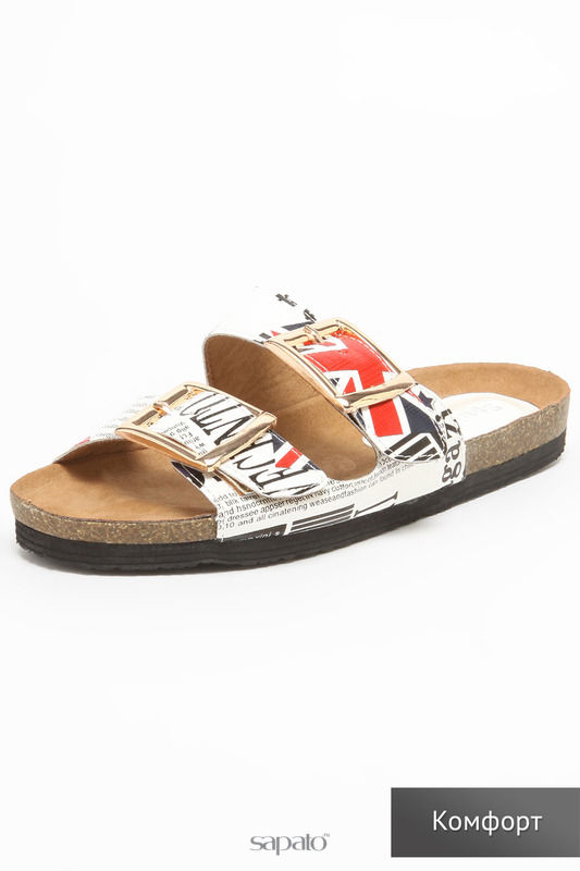 Сабо SPARKLING Туфли белые