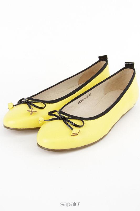 Балетки Anre Tani Балетки жёлтые