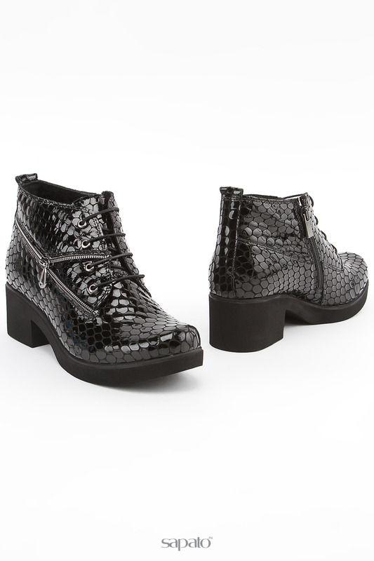 Ботинки NEW CARISMA Ботинки чёрные