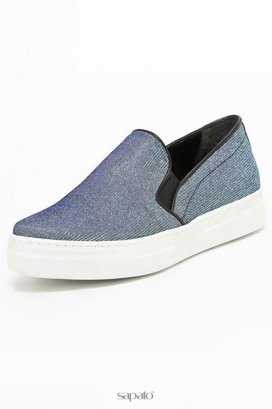 Ботинки Tucino Слипоны фиолетовые