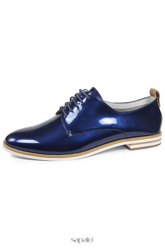 Ботинки Bravo Полуботинки синие